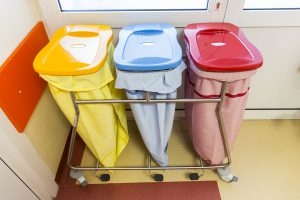 reducing proper medical waste disposal in hospitals separate containers