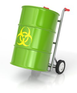 Dont transport your own medical waste